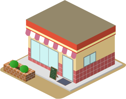 自社ネットショップの出店は「徳利店舗を運営」しているのと同じイメージです!