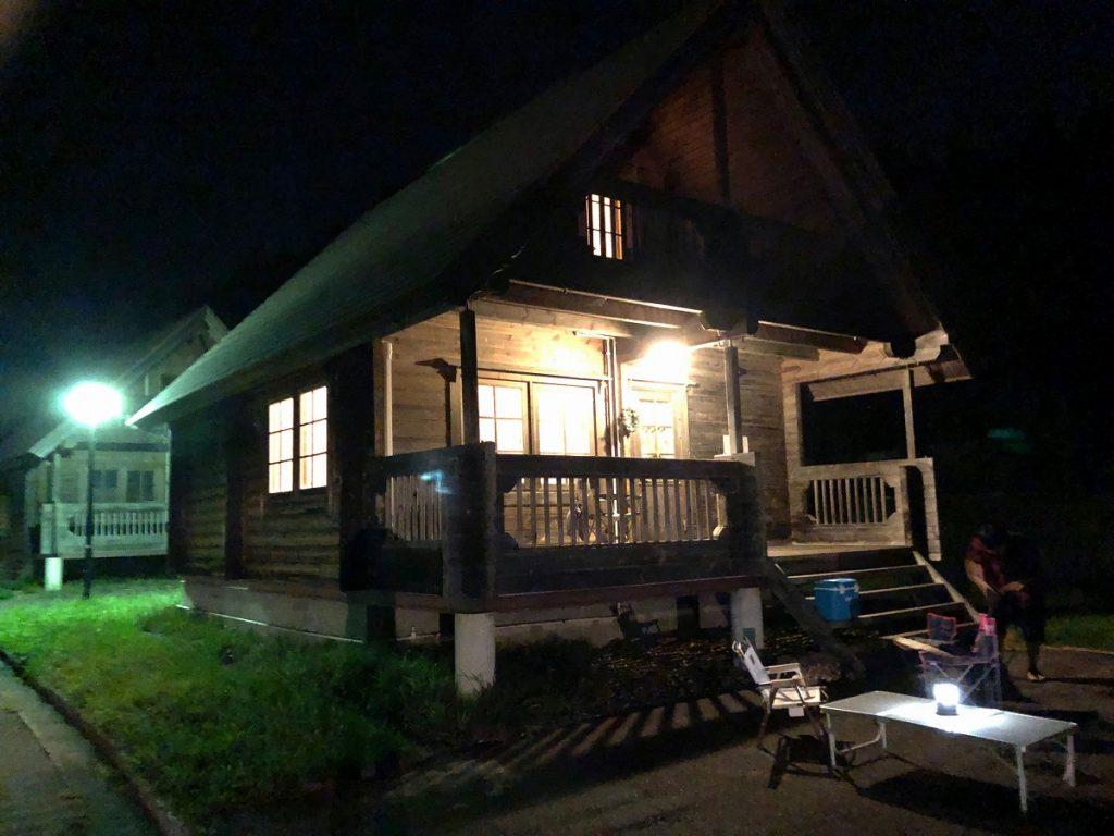 岩手 北上 ログハウス コテージ 宿泊 おすすめ GETO サンタハウスに行ってきました!