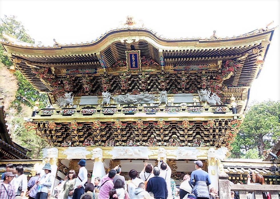【出品代行】世界遺産 日光東照宮の国宝「陽明門」約40年ぶりの大修理