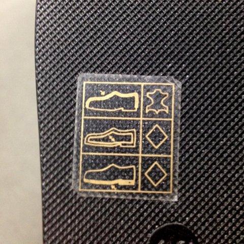 【豆知識】靴の素材表記について