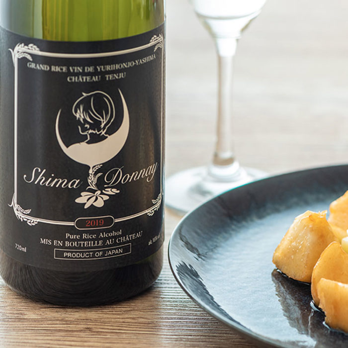 天寿 × 島鳥 × ごえん 日本酒 ShimaDonnay (シマドネ)