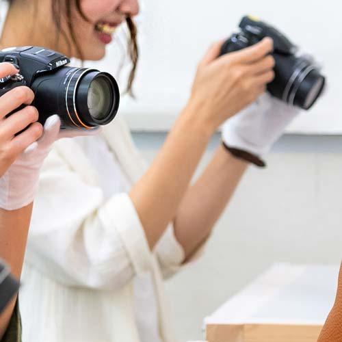 EC商品 写真撮影スタッフ インタビュー